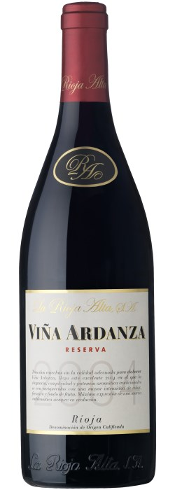 La Rioja Alta S.A. Viña Ardanza Reserva Rioja DOC 2012